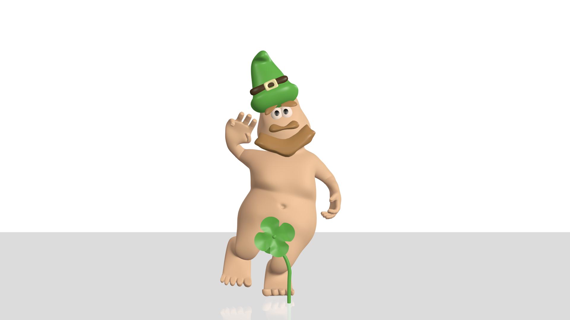 Nude leprechaun — img 6