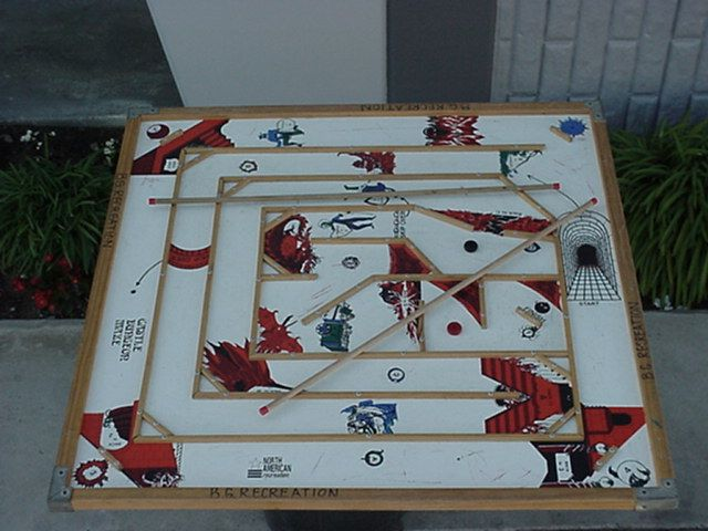Castle Dungeon Maze Game - Carrom Maze ... (With images ...