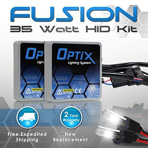 Introducing Optix 35w Hid Xenon Headlight Conversion Kit Slim Digital Ballast 1 Pair H3 6k 600 Recessed Light Conversion Kit Hid Xenon Led Recessed Lighting