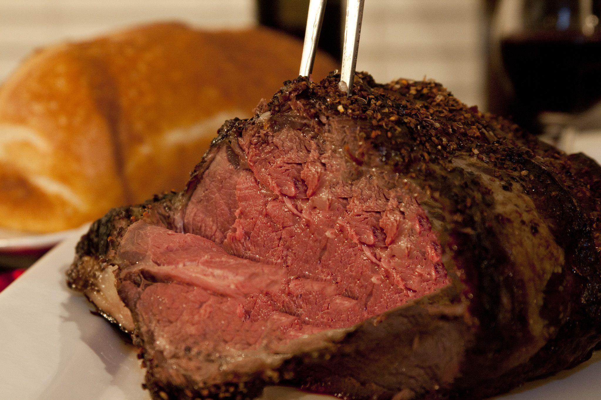 Bison Prime Rib Roast Food, Food recipes, Bison recipes