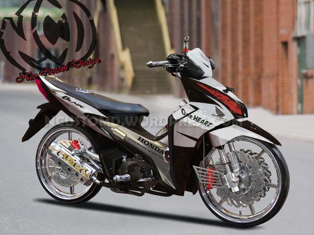 Koleksi Cara Modifikasi Motor Honda Blade 2012 Terbaru Botol