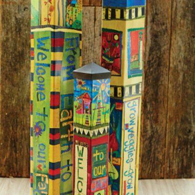 garden pole painted - Google Search | Garden Paradise | Pinterest ...