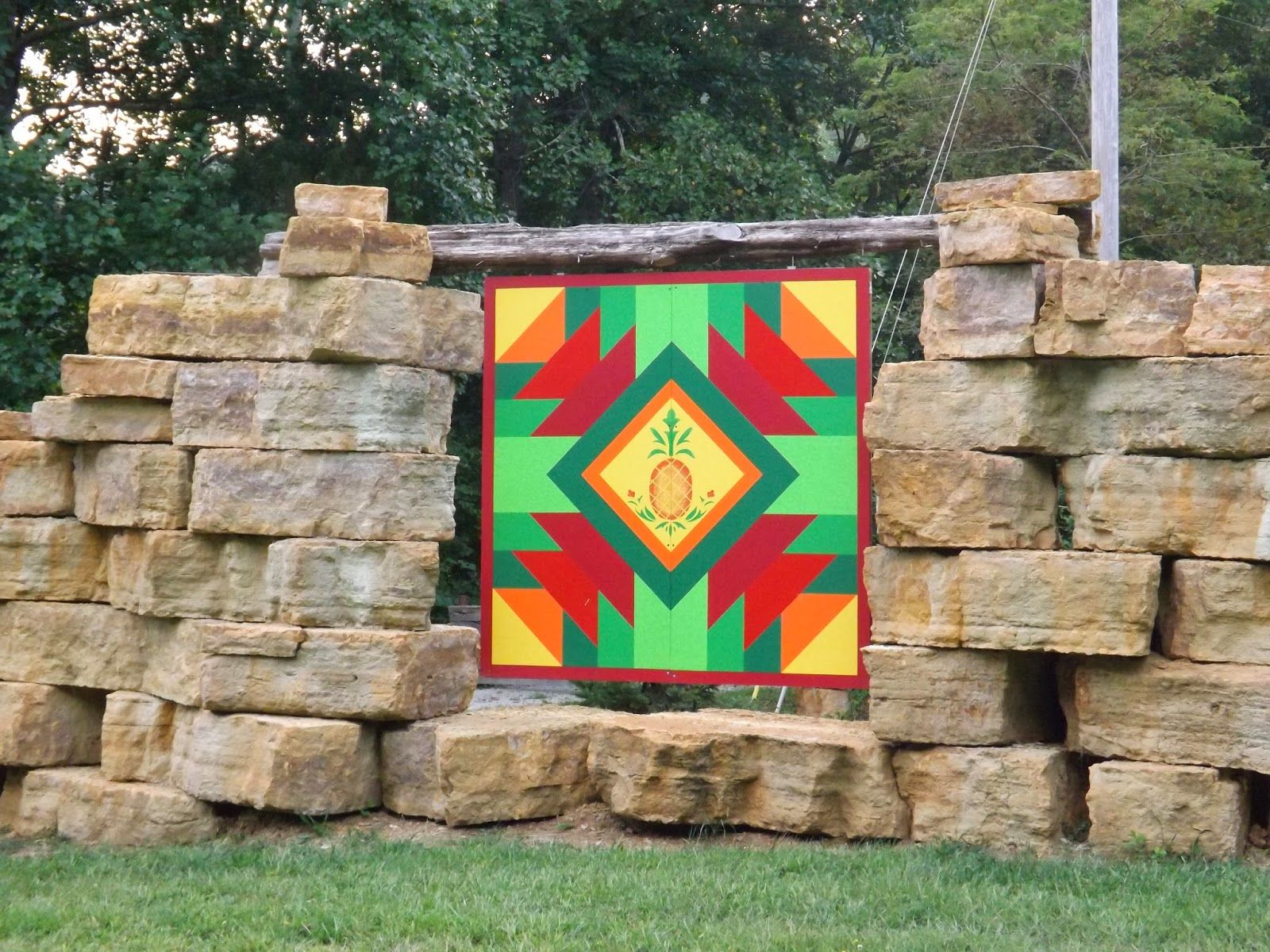 Home of Suzi Parron, author with Donna Sue Groves of 'Barn Quilts ... : history of barn quilts - Adamdwight.com