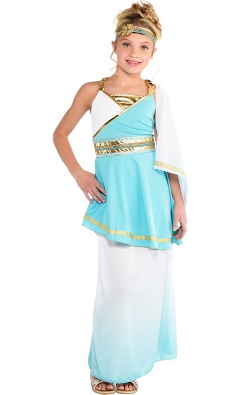 Girls Goddess Venus Costume Party City Party City Costumes Goddess Costume Greek Goddess Costume Halloween