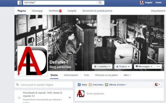 """Usare facebook a nome di una pagina Facebook ultimamente ha apportato delle modifiche al suo social network alcune di queste riguardano le pagine. Infatti chi ha una pagina fan sul social network avrà notato che è sparito il tasto """"Usa #facebook #fanpage"""