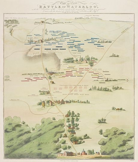 Waterloo S War Photographers Showcased In 200th Anniversary Exhibition At Windsor Castle Battle Of Waterloo Waterloo Map Historical Maps