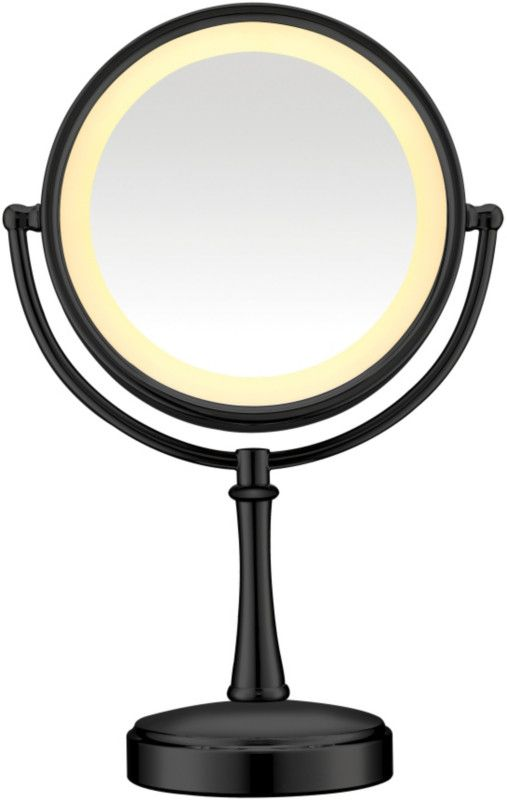 Conair Black Touch Control Lighted Makeup Mirror Makeup Mirror With Lights Makeup Mirror
