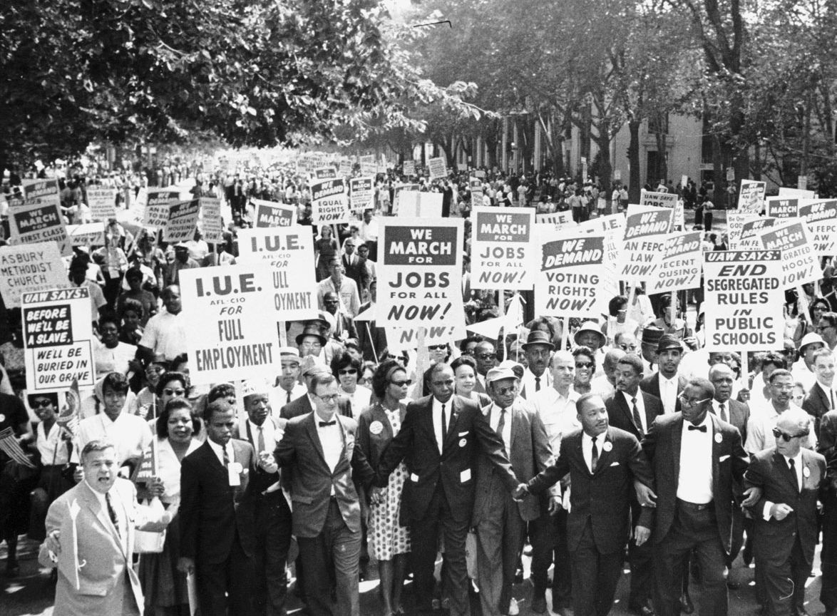 March On Washington For Jobs And Freedom 1963 Jpg 1174 864 Civil Rights Civil Rights Movement Martin Luther King Jr