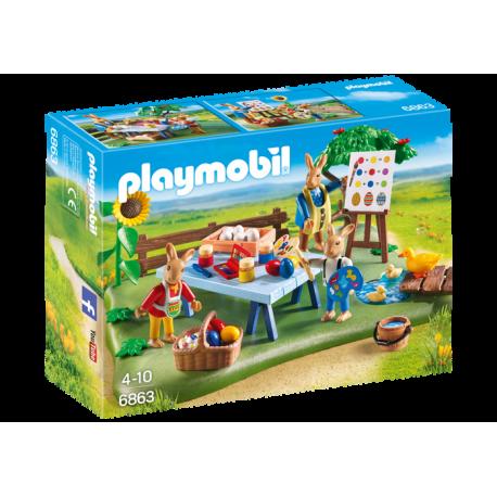 Playmobil 6863 Warsztat Zajączków Wielkanocnych
