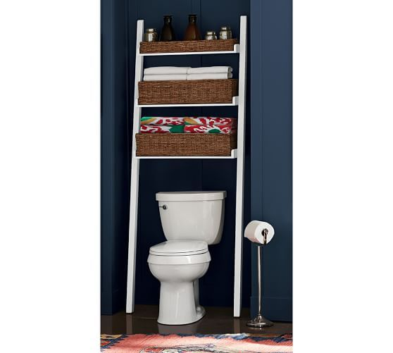 Ainsley Over The Toilet Ladder | Pottery Barn
