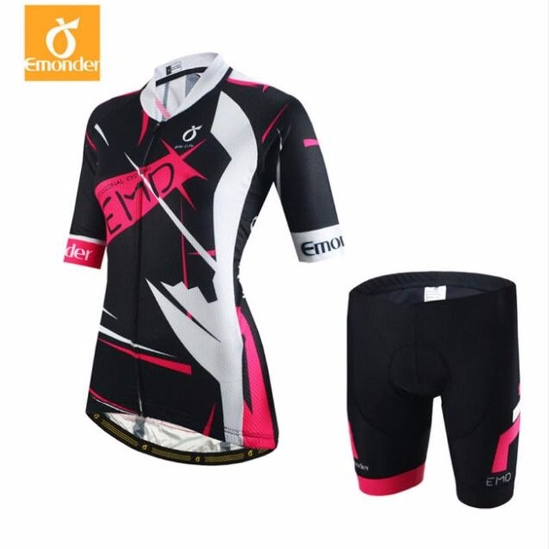 eeef18c27 High Quality Cycling Jersey women cycling clothing set breathable bike  jerseys bicycle Mountain wear mtb clothes