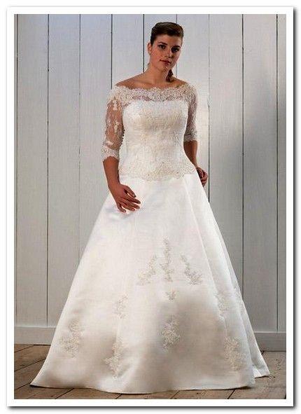 western-wedding-dresses-plus-size.jpg (430×591) | Saying \