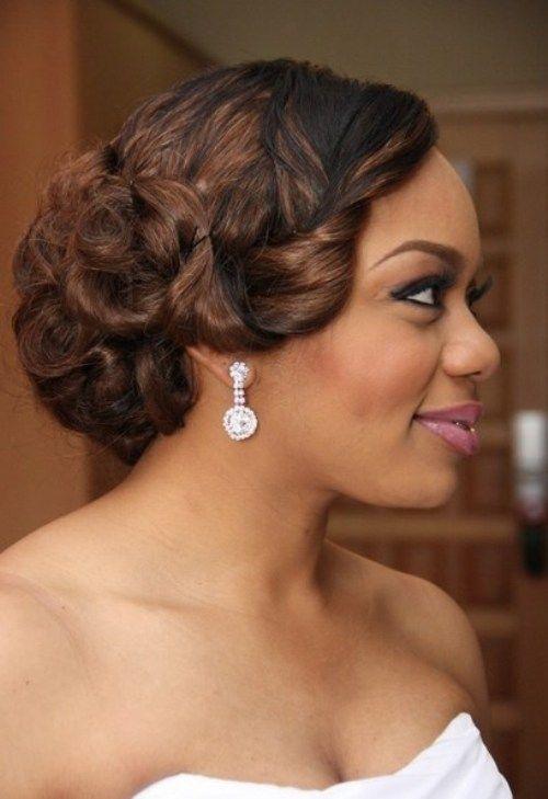 Best Black Hairstyles 2017 for Weddings | Hairstyles Ideas ...