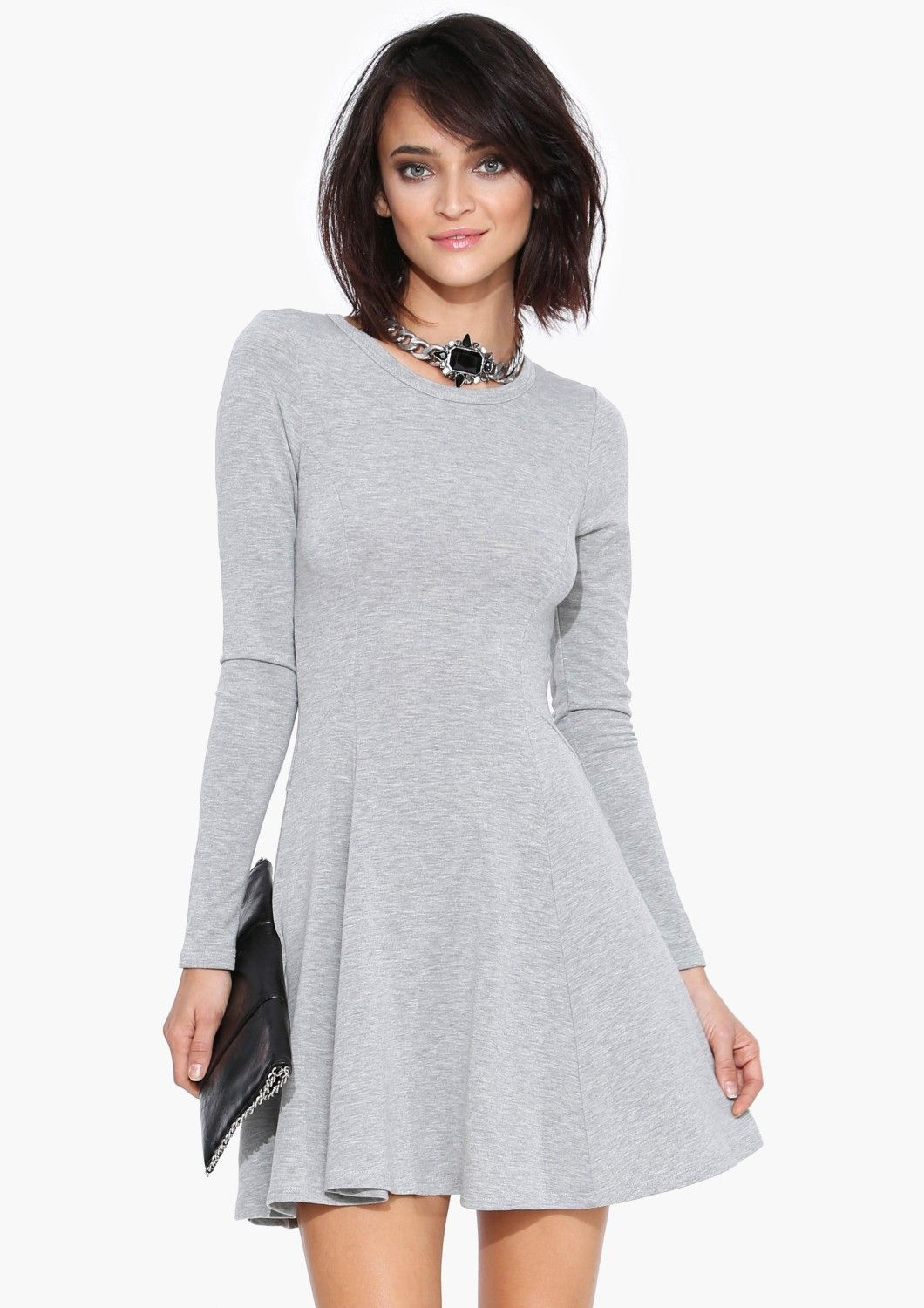 A universally flattering dress that can be styled casual or dressy ...