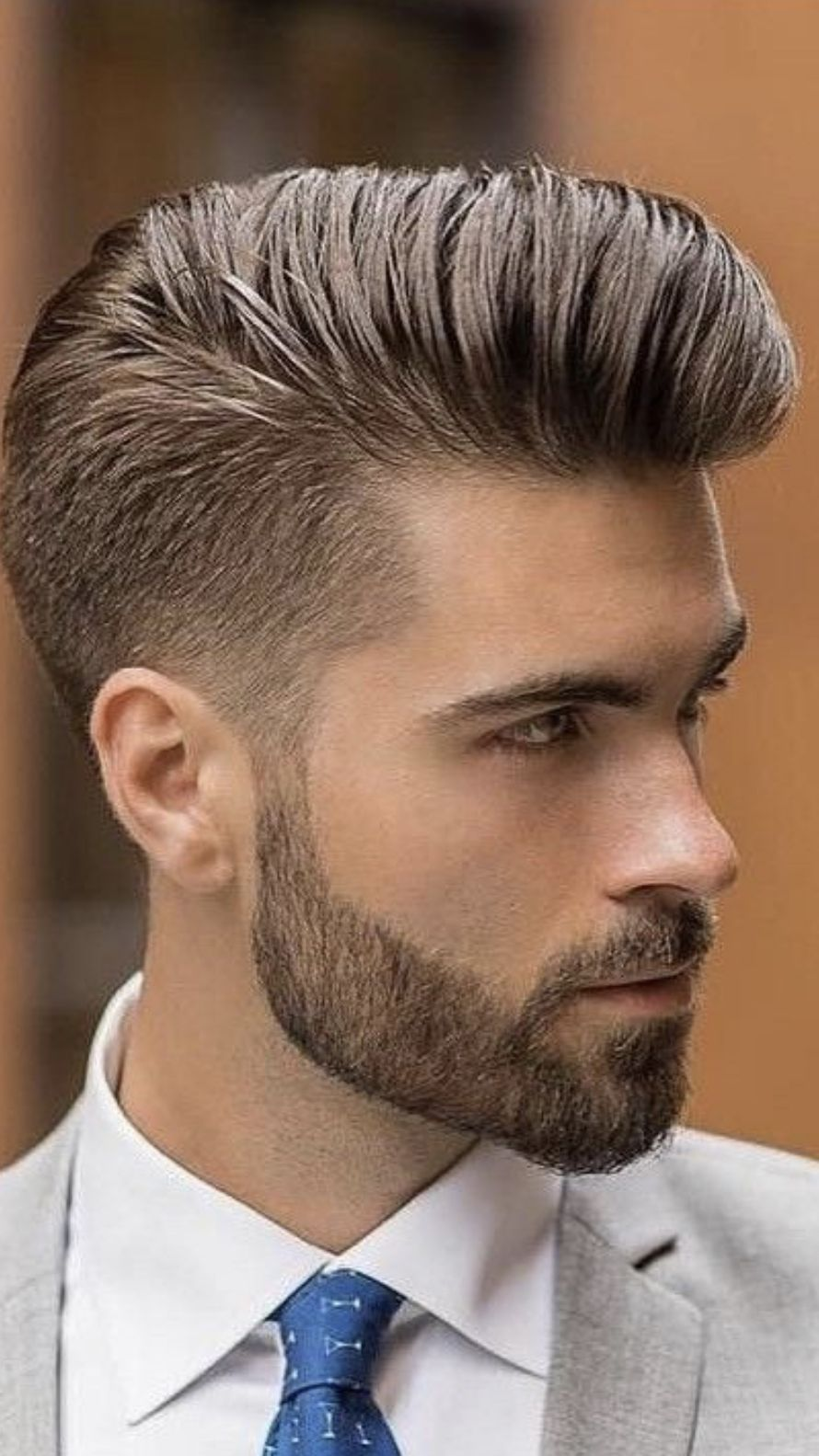 Pin By Chad Perkins On Beards Scruff Mens Hairstyles Pompadour