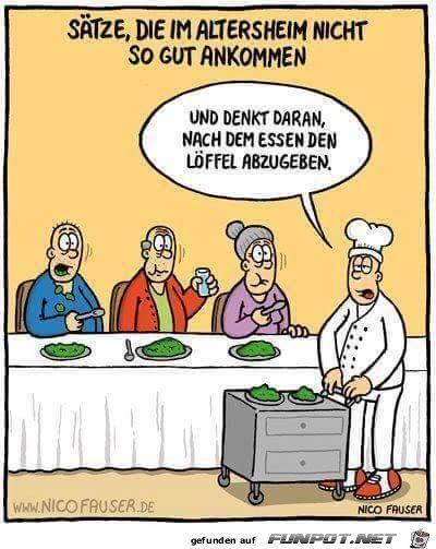 Altenheim Witze
