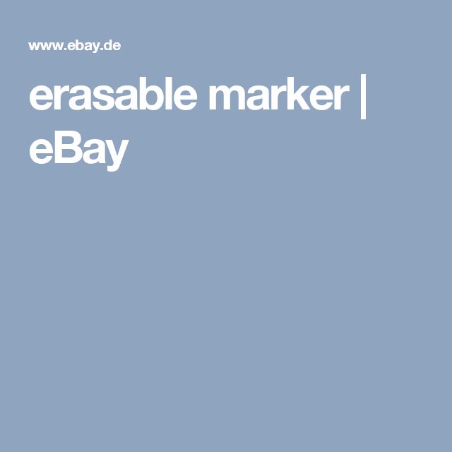 erasable marker | eBay