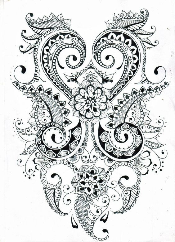 Zentangle Flower Patterns Printable Google Search Zentangle