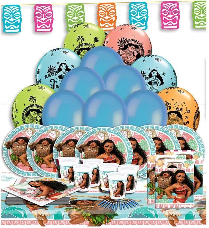 Disney princess moana party kit for 16 party kit moana