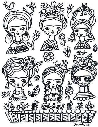 Mandalas De Frida Kahlo Para Colorear Busqueda De Google Frida Dibujo Frida Khalo Dibujos Frida Kahlo Dibujo