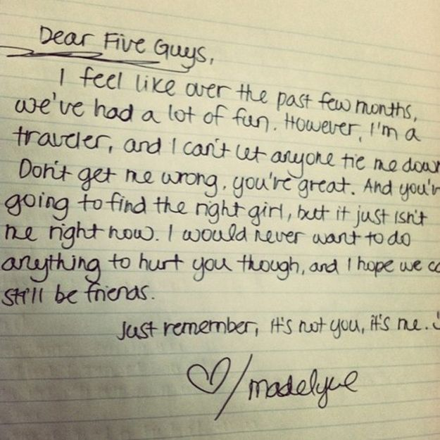 Breakup Letters That Will Make You Happy To Be Single  Hilarious
