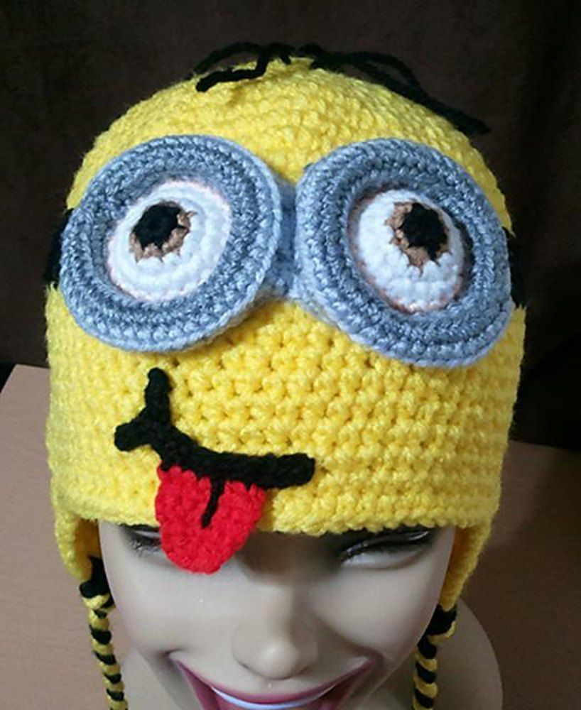 Beanie based on the minion character from despicable meis beanie based on the minion character from despicable meis pattern is free and intended bankloansurffo Image collections