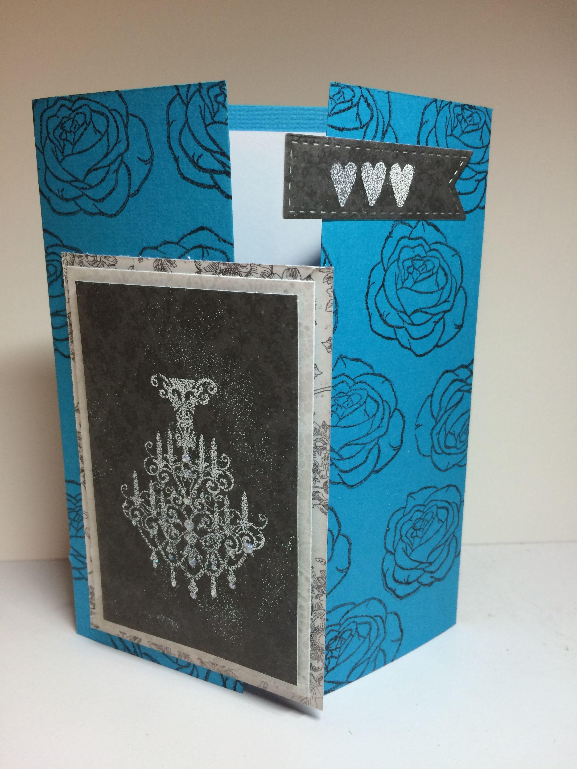 Jan. Challenge - Gate Fold Card