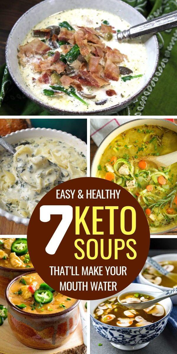 Photo of Low Carb Keto Suppe Rezepte auf der ketogenen Diät