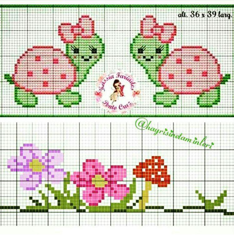 Photo of Petits Motive Tortures 40 ht and Fleuren 22-ht – points compt Cute Cross Stitch, Cr …