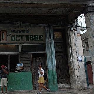 Esto forma parte de mi barrio...Cuba.