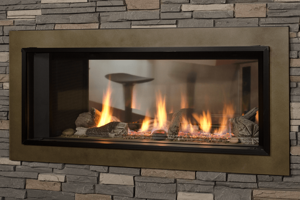 L1 2-Sided Linear Series with Driftwood and 1 Inch Surround
