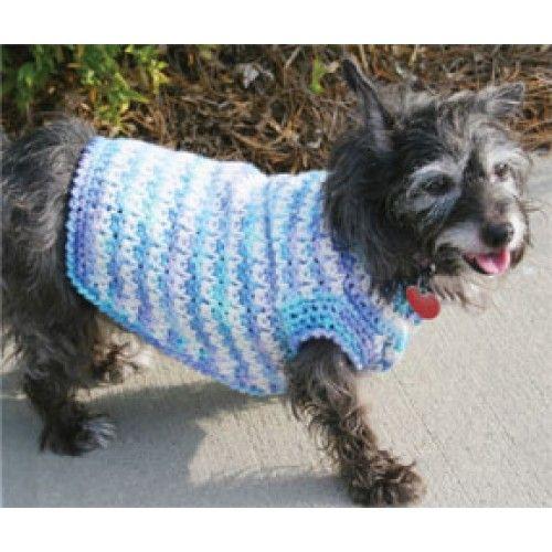 Free Dog Sweater Crochet Pattern Crochet Pinterest Free Dogs