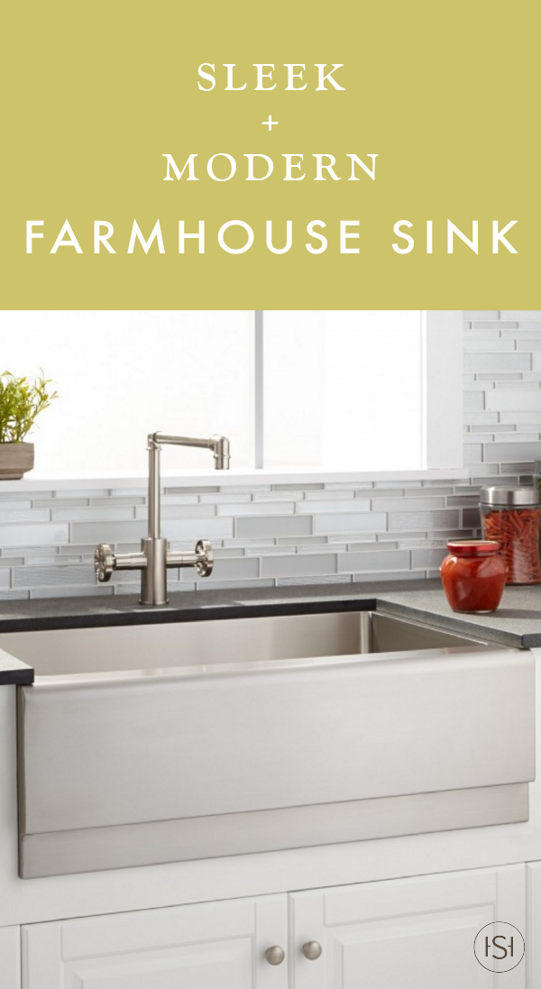 If You Love The Traditional Feel Of Large Kitchen Sinks But Want
