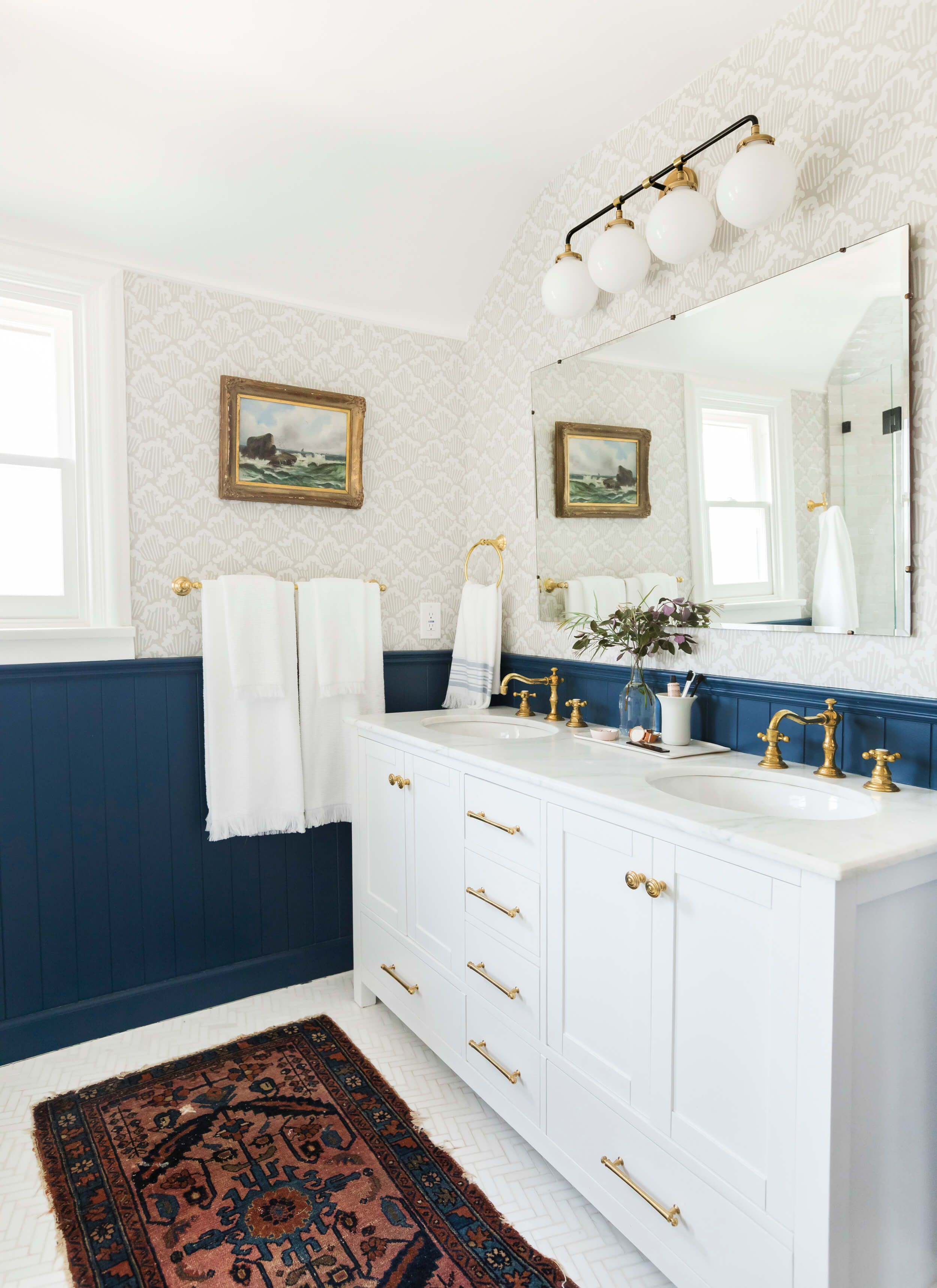 Our Classic Modern Master Bathroom Reveal (Emily Henderson ...