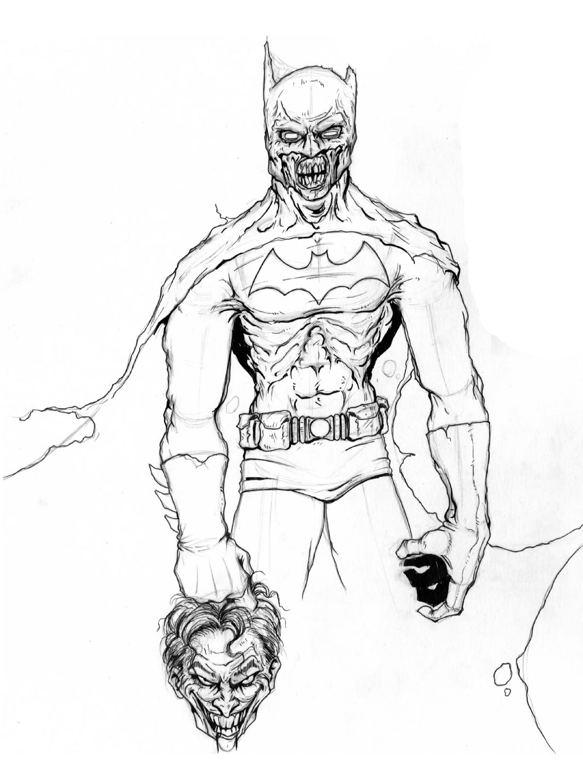 Pin By Garth Ranzz On Zombies Batman Coloring Pages Cartoon Coloring Pages Zombie Disney