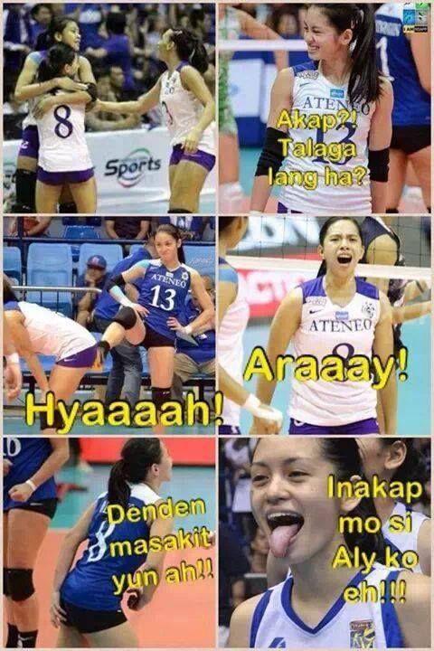 Alyden Meme 3 Alyssa Valdez Women Volleyball Volleyball