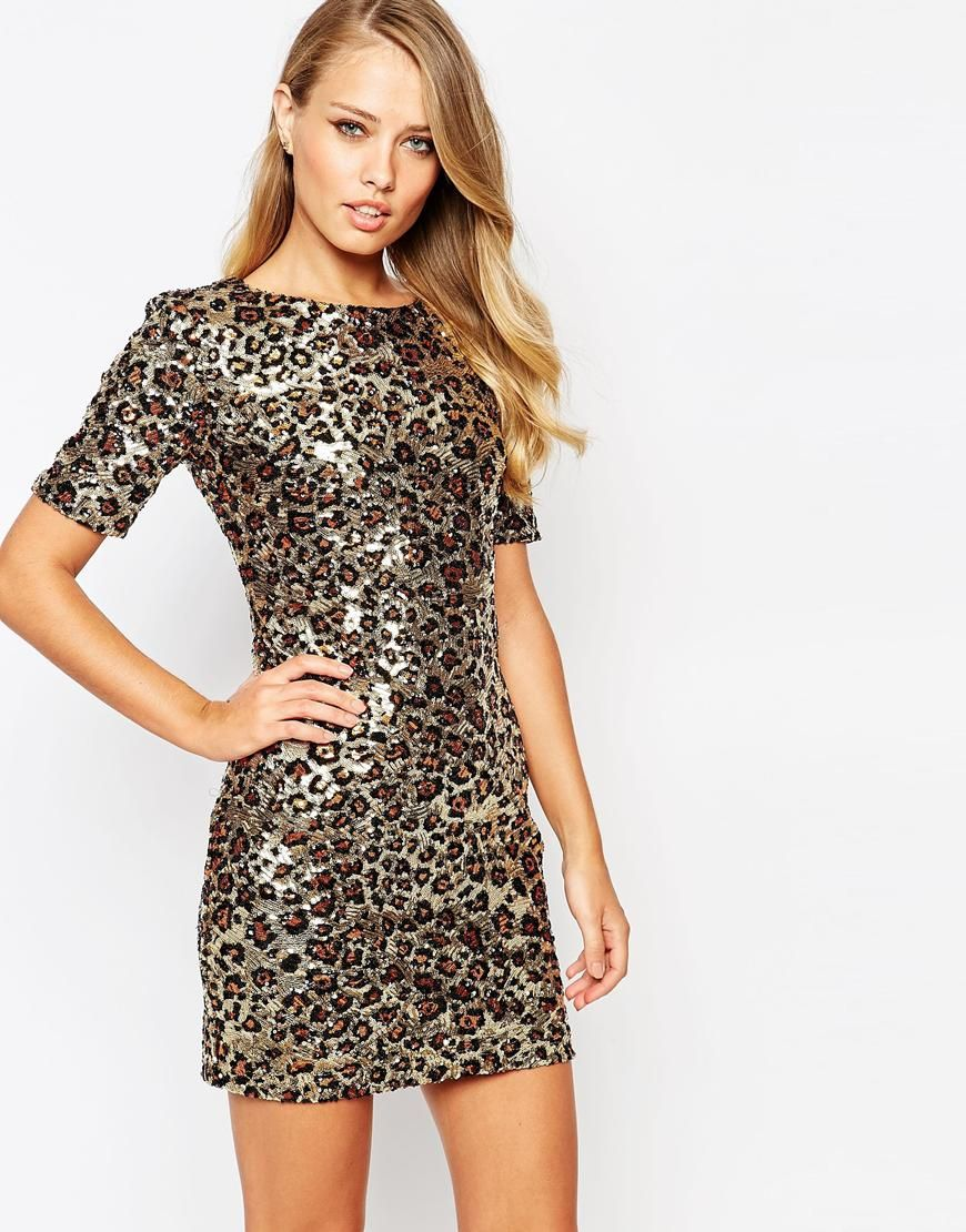 e8fe6e6c32d1d French Connection Leo Luxe Sequin Mini Dress | Holiday Party Style ...