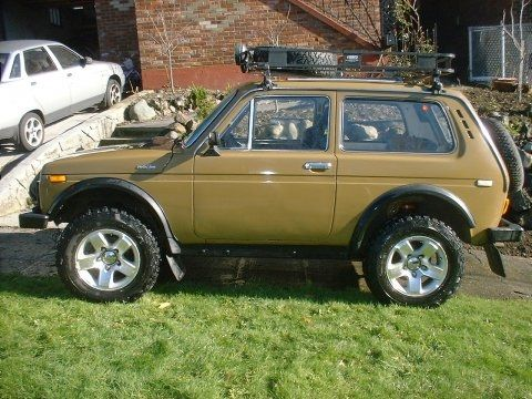 Rare Russian Ute Restored 1980 Lada Niva 4x4 Rugged Motor Car