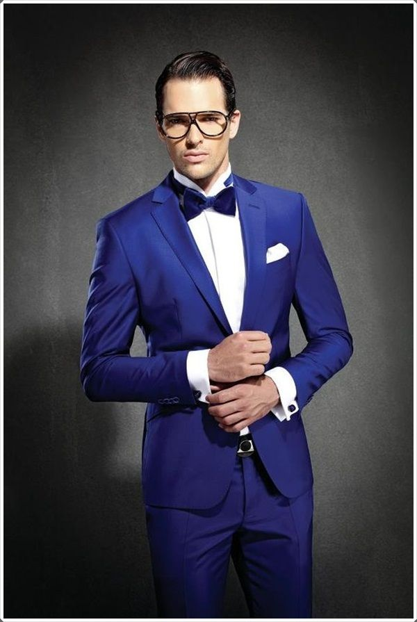 Blue Suits Are Great For All Formal Occasions