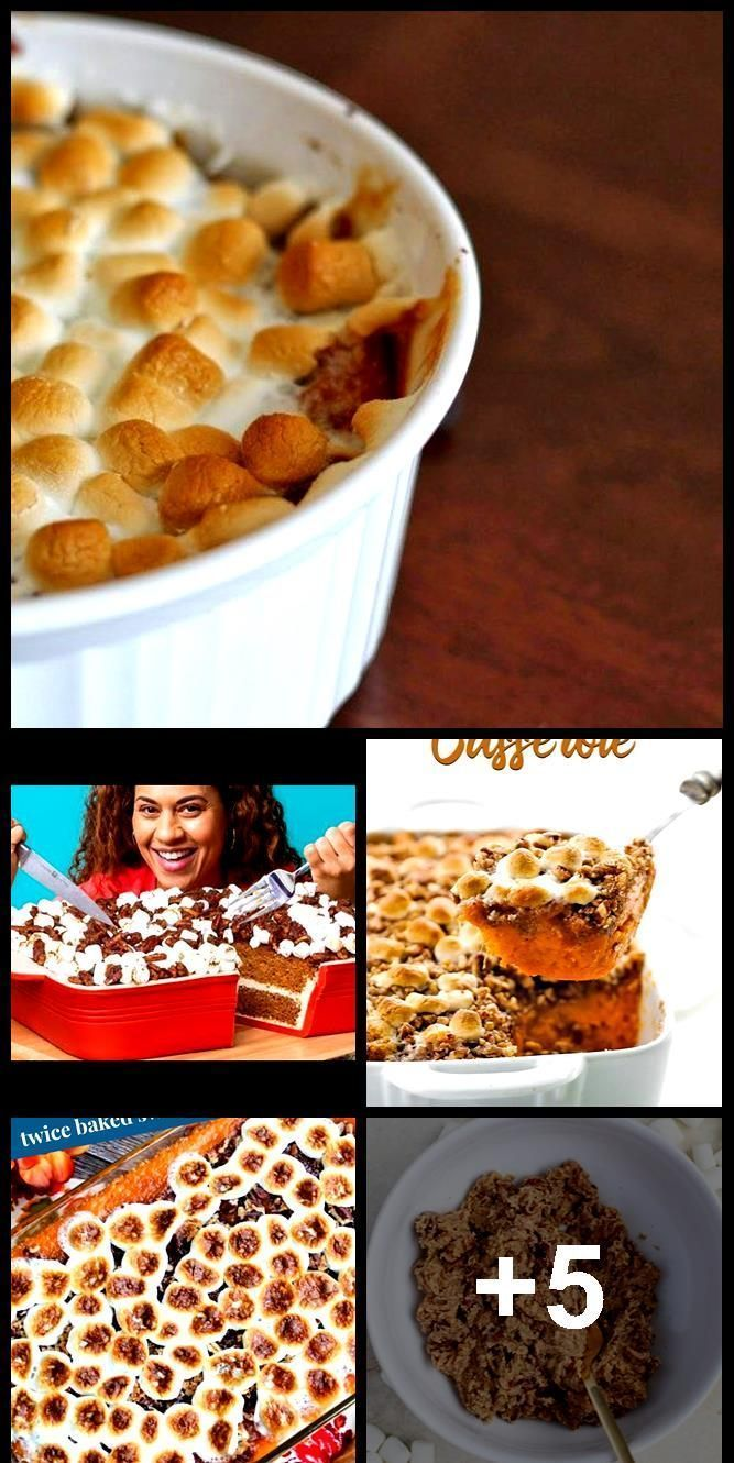 The BEST Sweet Potato Casserole with Marshmallows and Brown Sugar Streusel The  The BEST Sweet Potato Casserole with Marshmallows and Brown Sugar Streusel The  The BEST S...