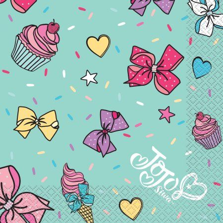 Jojo Siwa Party Napkins 16ct Multicolor Products