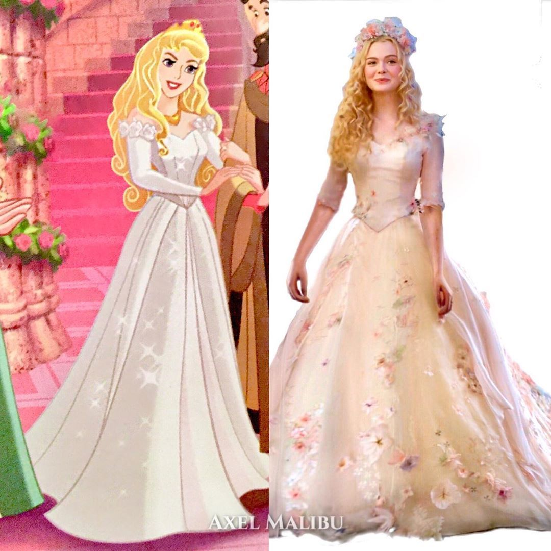 Bridal briar rose whos excited to see aurora finally