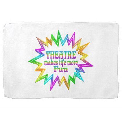 theatre more fun kitchen towel kitchen gifts diy ideas decor
