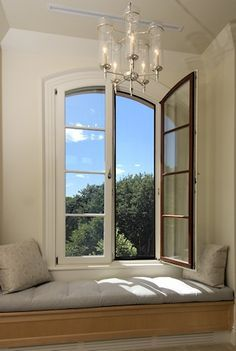 french casement windows over window seat google search my