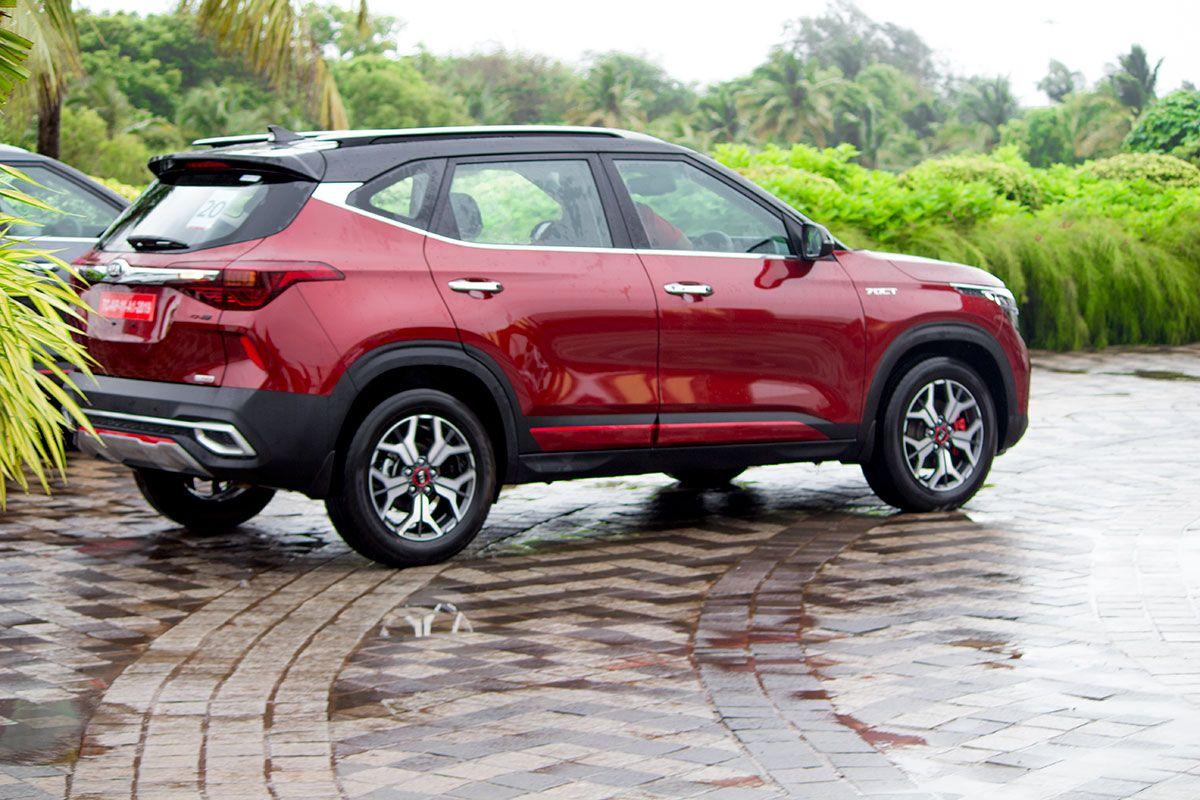 Kia Seltos In Intense Red Kiaseltos Seltos Redseltos Redcar Kiamotorsin Kiamotorsin Kia Kia Motors India