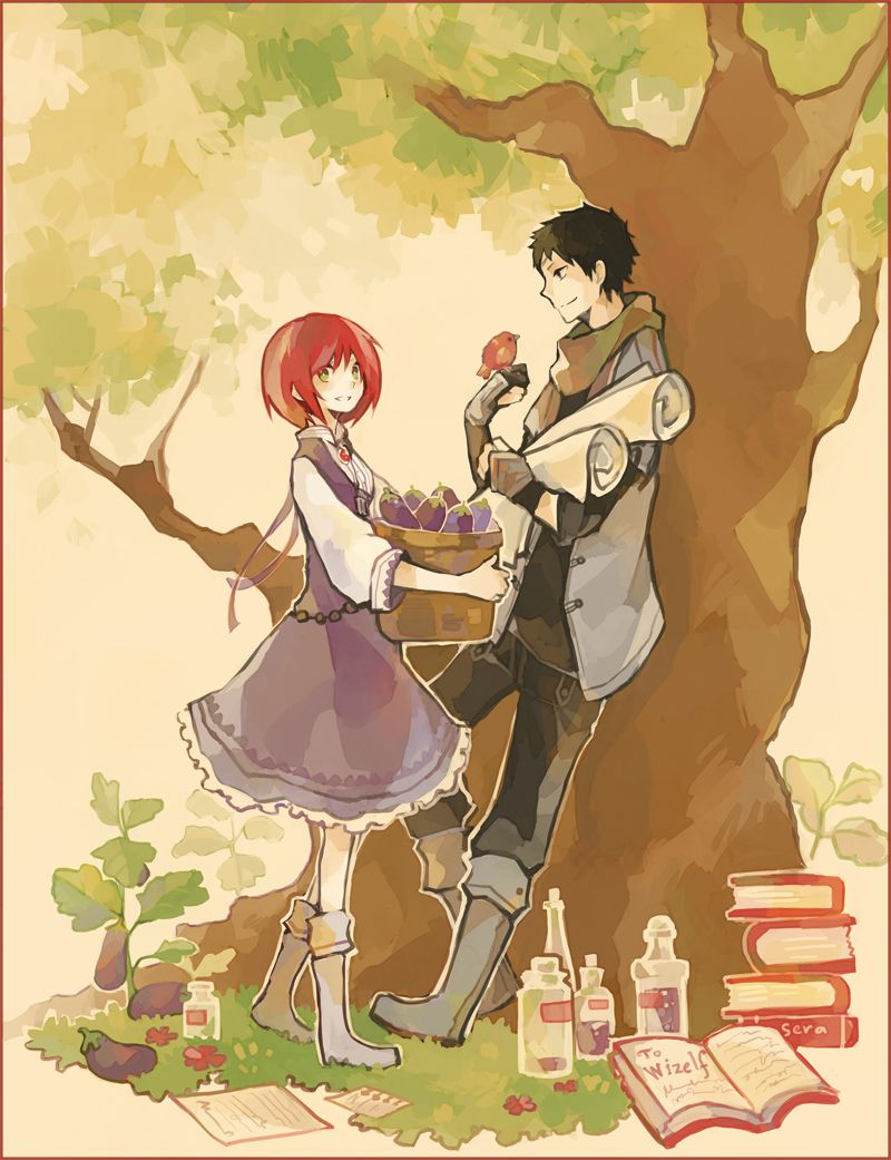 Akagami No Shirayukihime 1896415 Zerochan Snow White With The