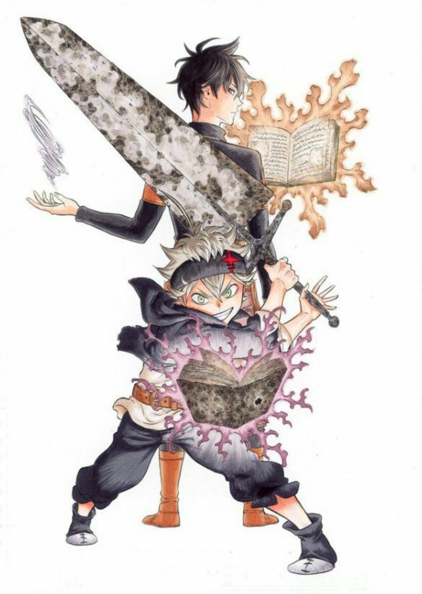 Pin by Mirian L. D on Anime & Cartoons Black clover
