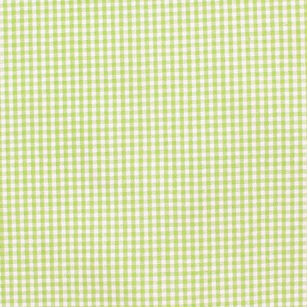 Kleinkariert in grün und weiss - 100 Baumwolle Wir ❤ Karos