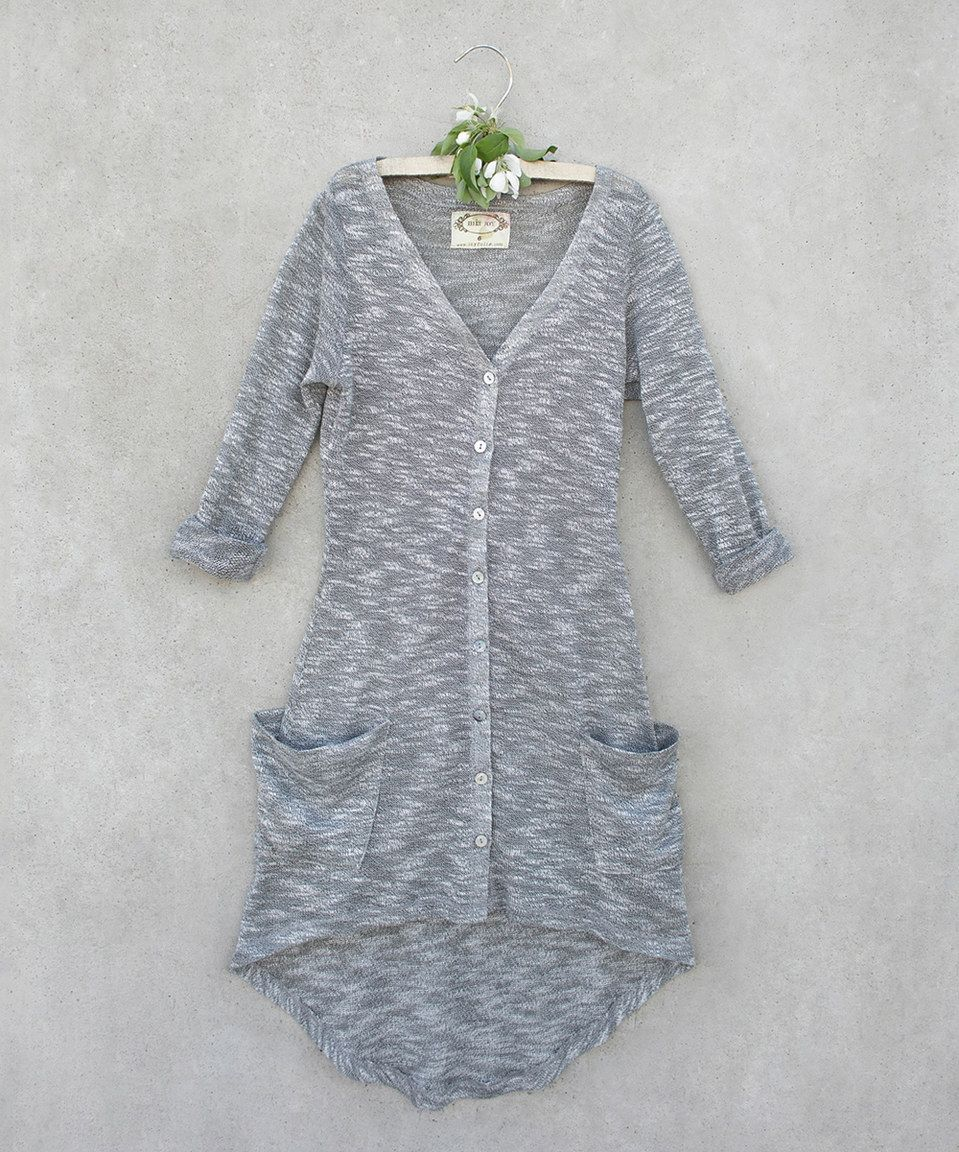 Silver Jules Maxi Cardigan - Toddler & Girls by Joyfolie #zulily ...