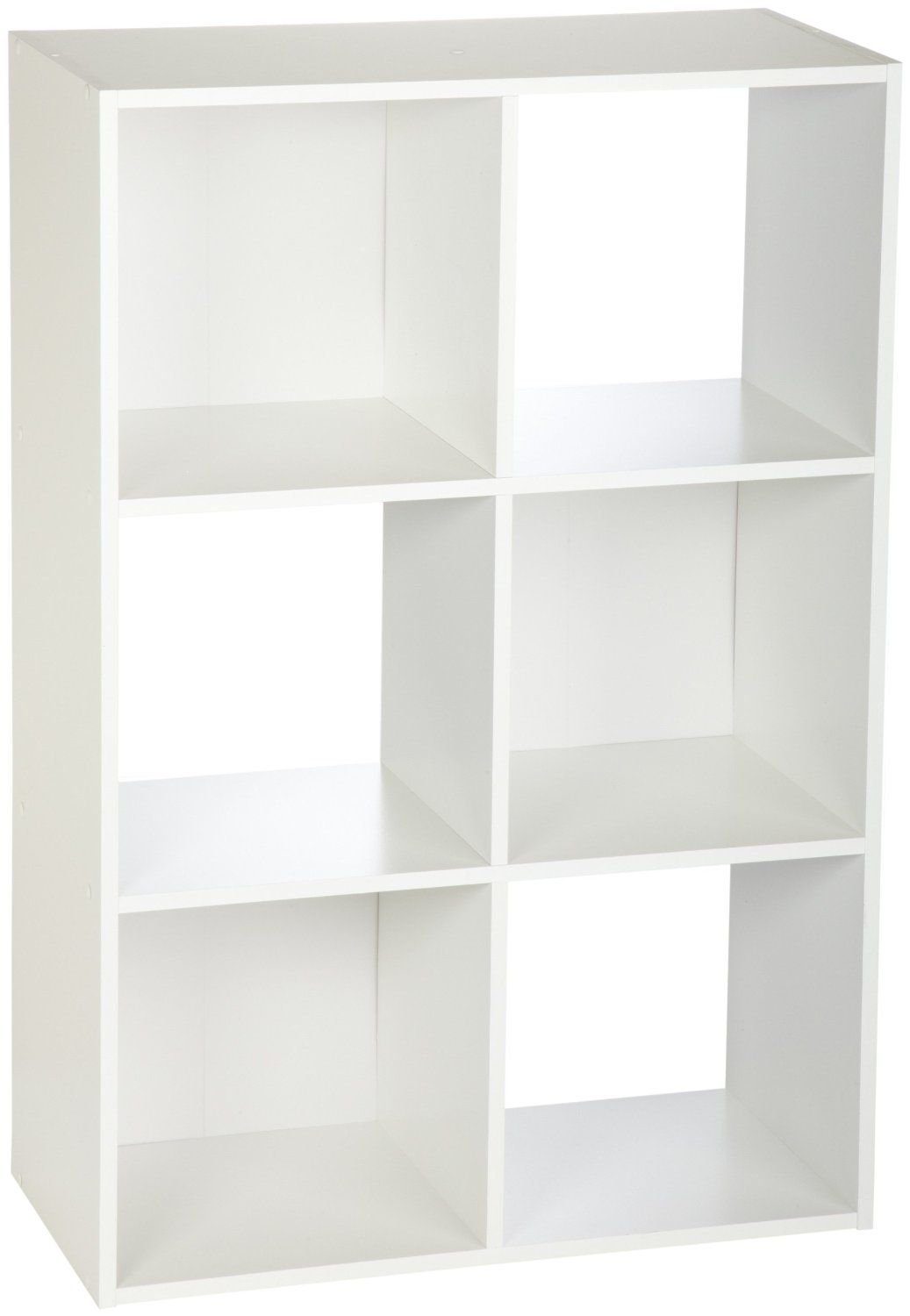 Amazon Com Closetmaid 899600 6 Cube Stackable Laminate Organizer